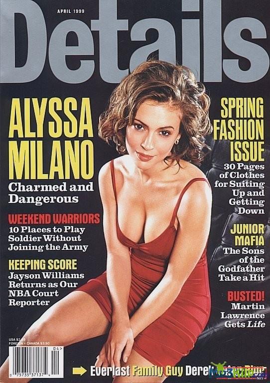 Стройная Алисса Милано в порно кадрах