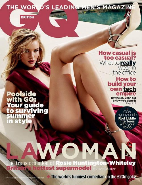 Секси Рози Хантингтон Уитли (Rosie Huntington Whiteley) в GQ Великобритании