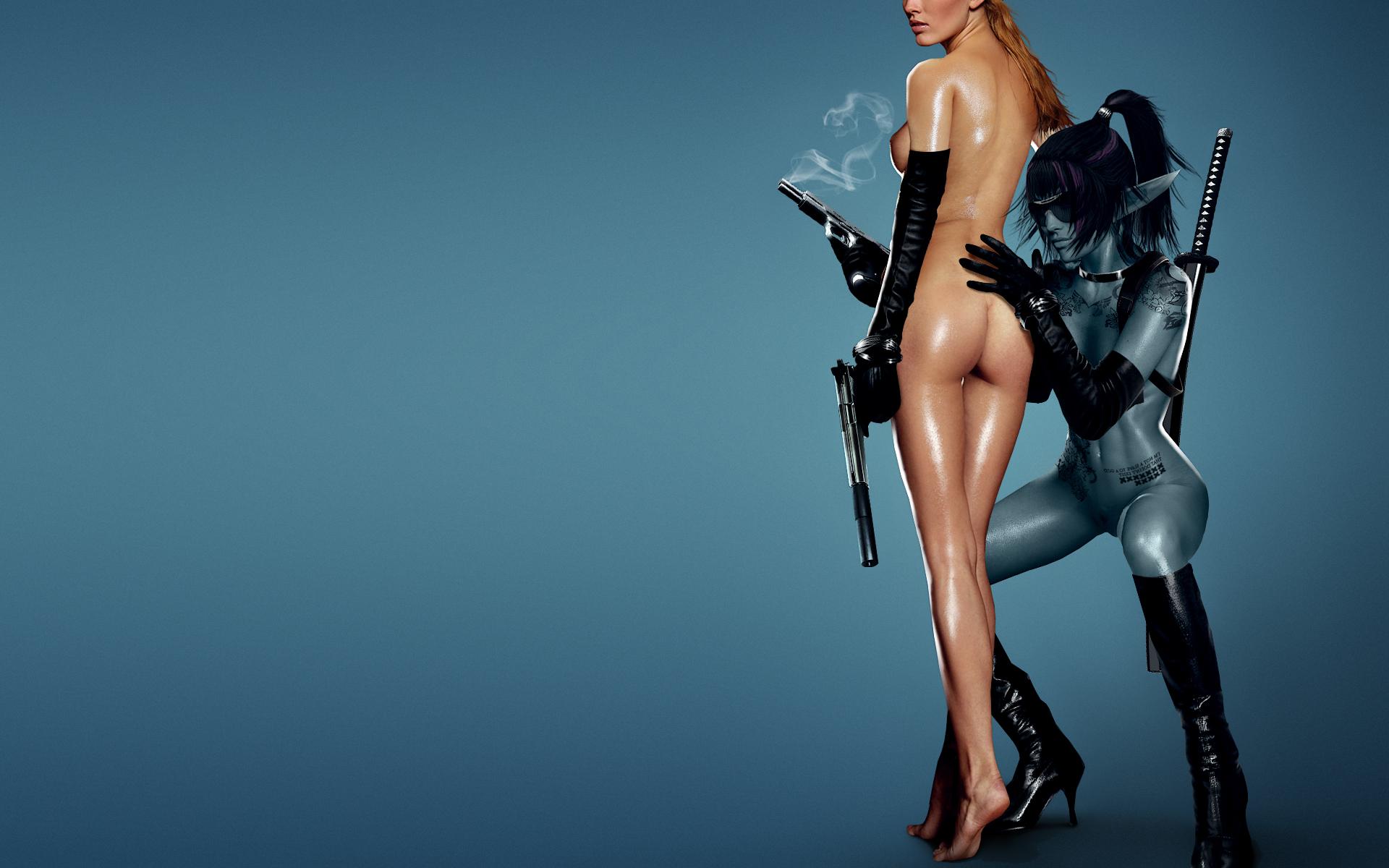 Фото голых девушек с танками 14 фотография