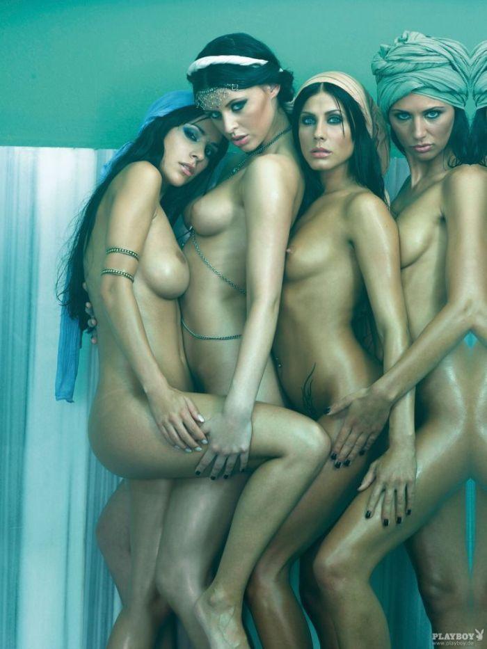 Фото голых в гареме