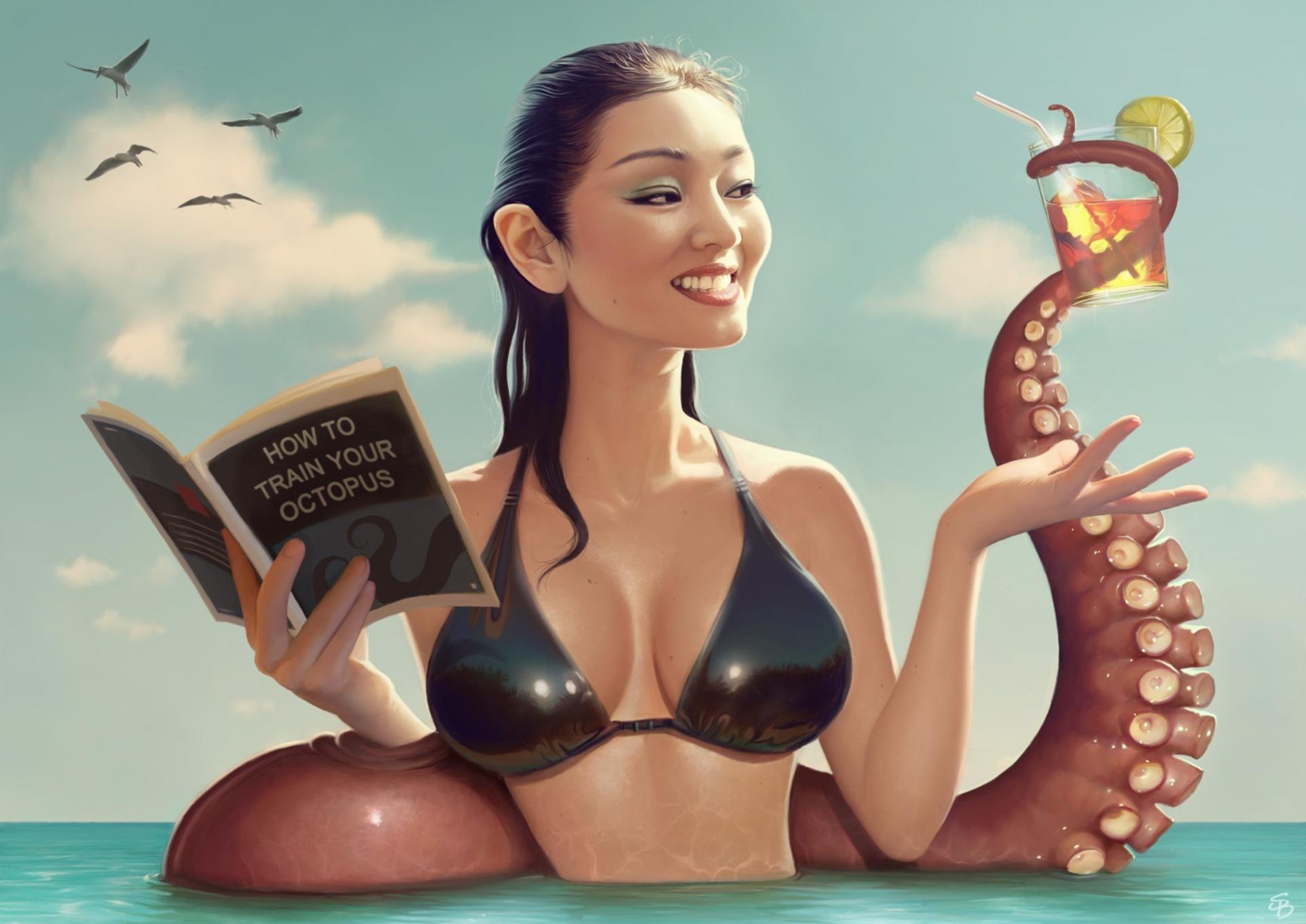 Сексуальные образы в иллюстрации художников 12 фотография