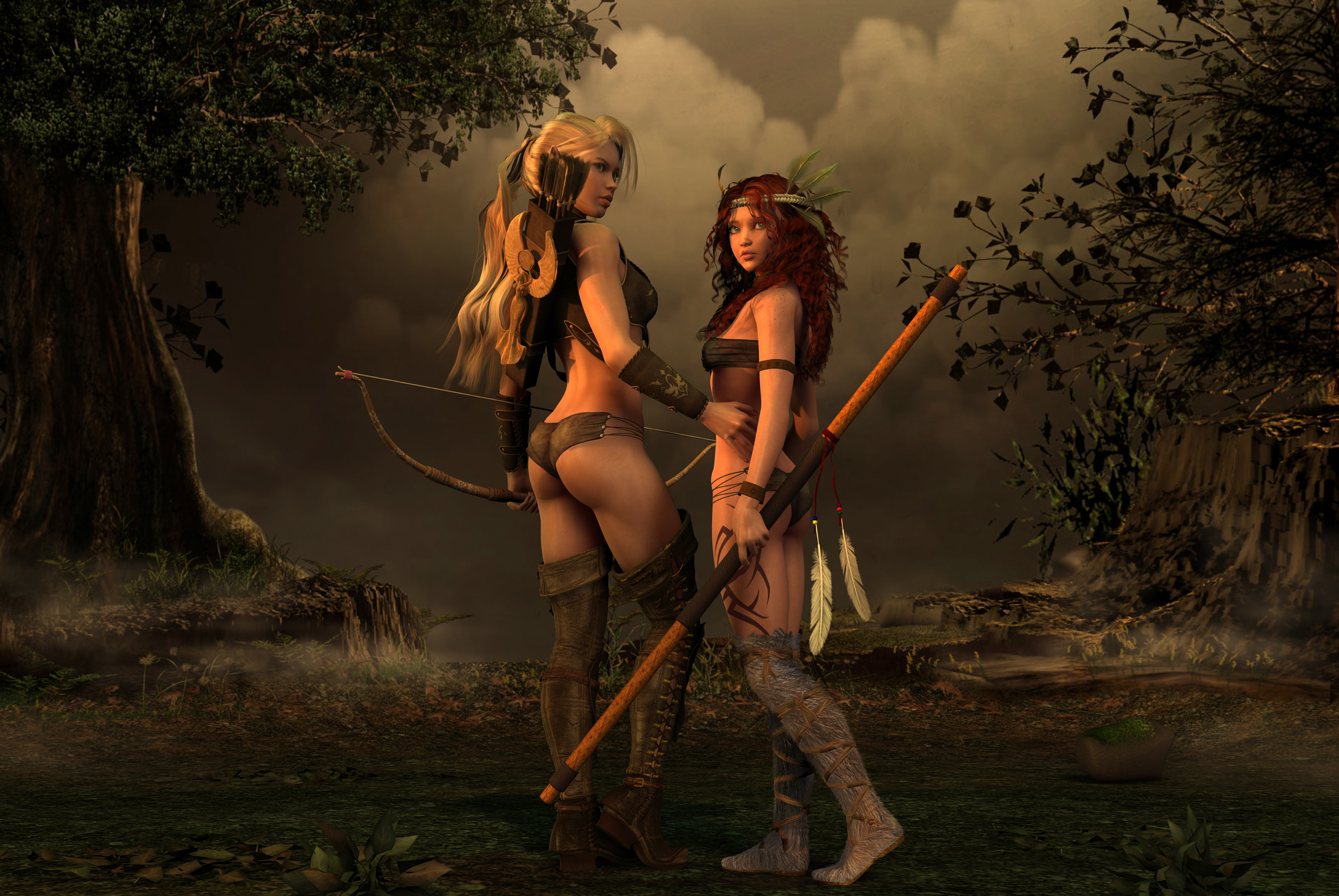 Minotaur and elf nude pornos comics