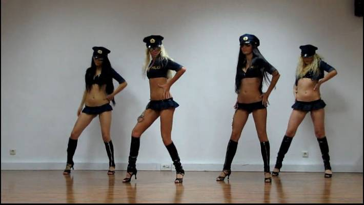 "GO-GO Dance ""Police of Customs"" Классная постановка танца"