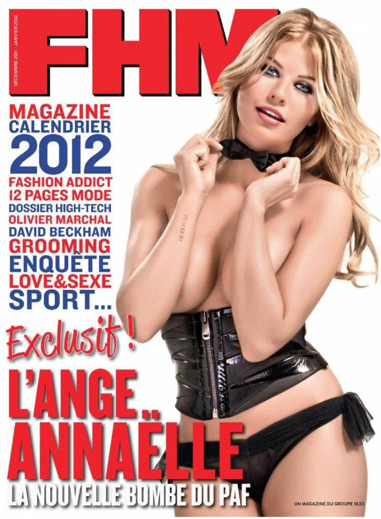 Секси Annaelle - FHM December 2011-January 2012  France