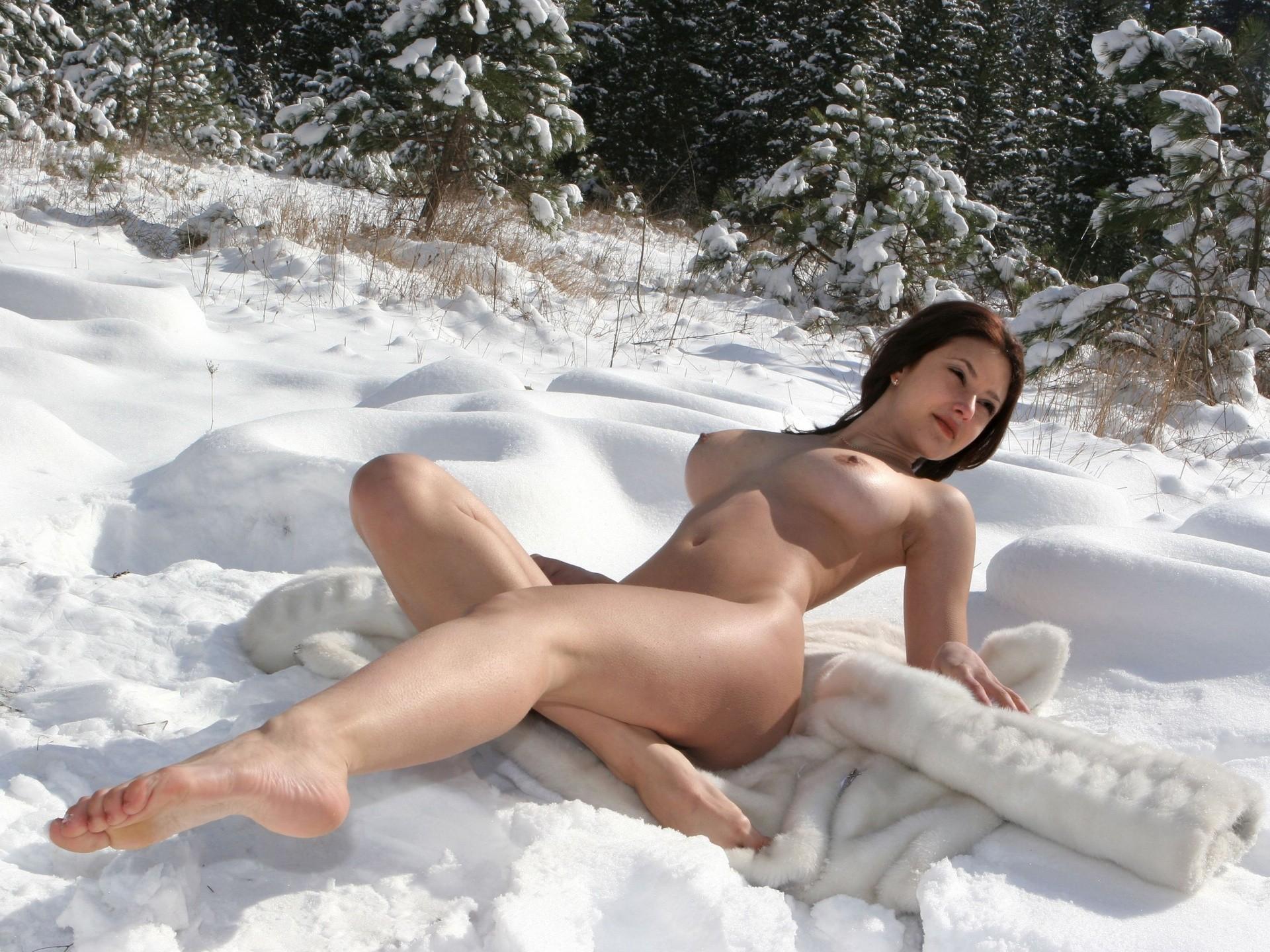 Секс на снегу ru 20 фотография