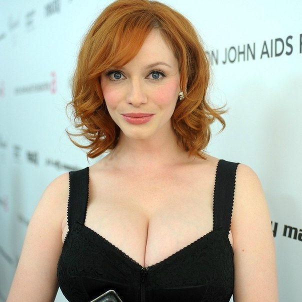 Кристина Хендрикс Голая - Christina Hendricks Nude