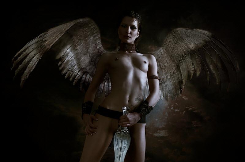 I Эротика Красивый Ангел