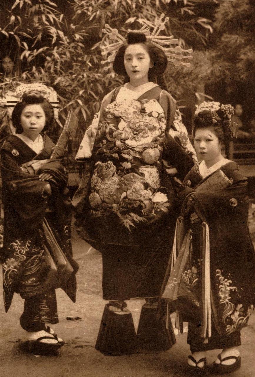 Старые японские проститутки 11 фотография