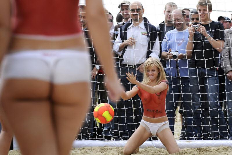 обнажёнка в спорте