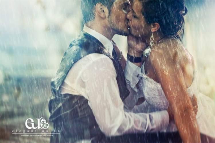 Дождь в день женитьбы - это не только лишь отменная примета для молодоженов