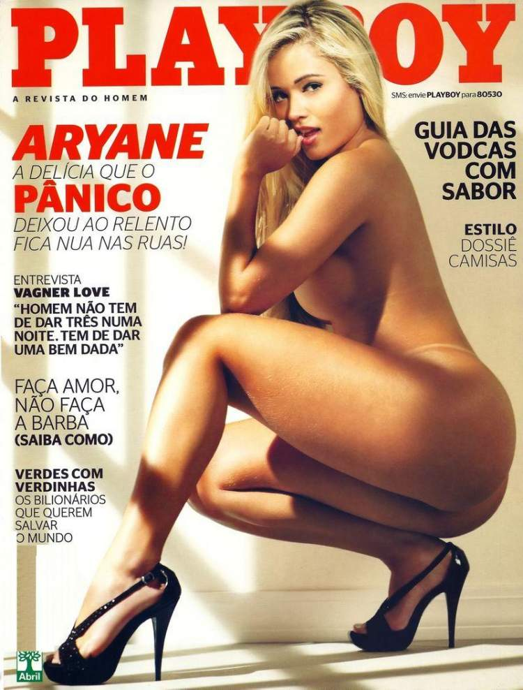 Секси Aryane Steinkopf - Playboy April 2012  Brazil