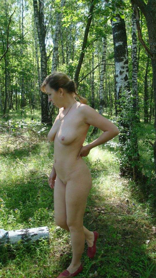 Жены Голые В Лесу