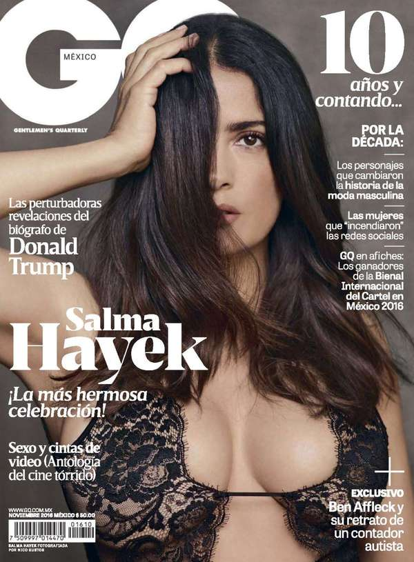 Salma Hayek - GQ Mexico November 2016