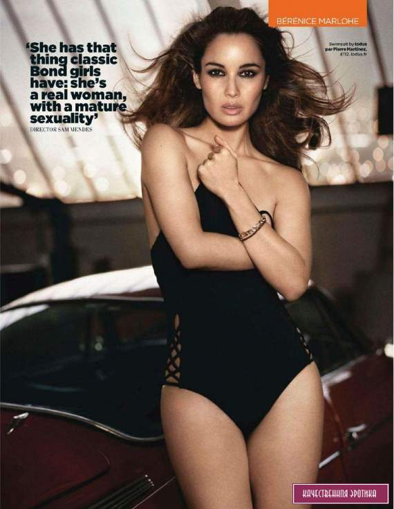 Сексуальная Berenice Marlohe - GQ August 2012  UK