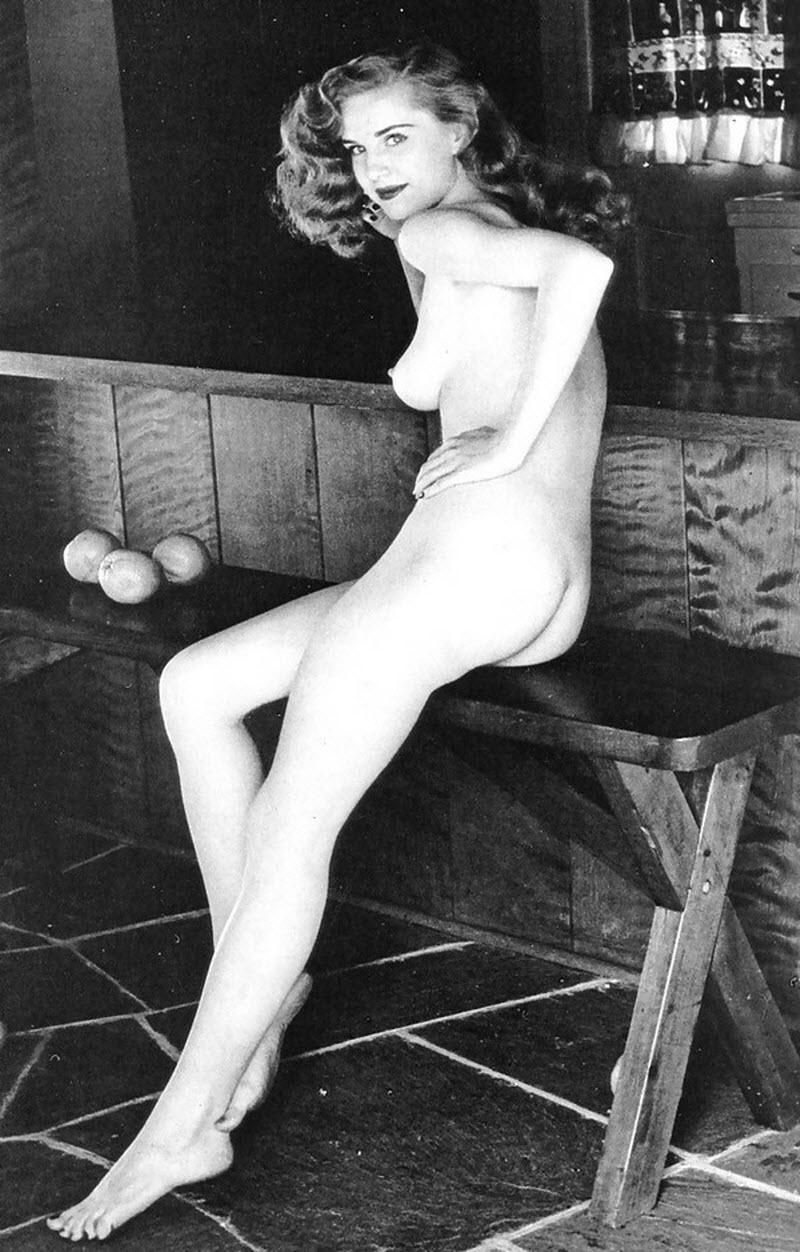Эротические Чёрно-белые Ретро Фото