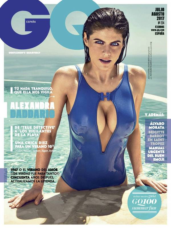 Alexandra Daddario - GQ Spain July/August 2017