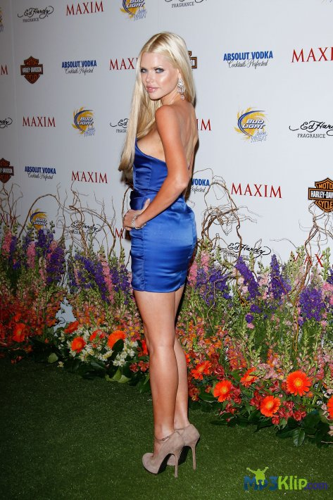 Софи Монк (Sophie Monk) на вечеринке «Maxim Hot 100 Party» в Лос-Анджелесе