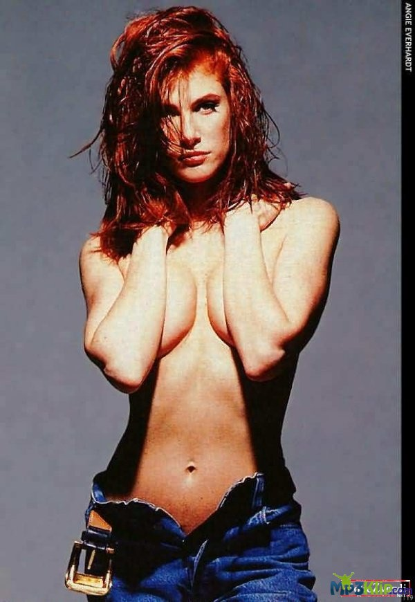 Angie everhart in the nude — img 7