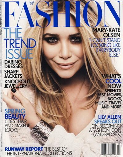 Мэри-Кейт Олсен (Mary-Kate Olsen) в Interview Magazin и Fashion.