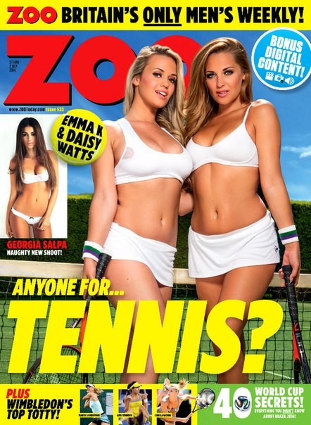 Daisy Watts & Emma K - Zoo UK 27th June 2014 - Digital Edition