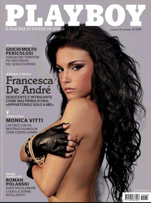 Обнаженная Francesca De Andre - Playboy November 2011 (11-2011) Italy