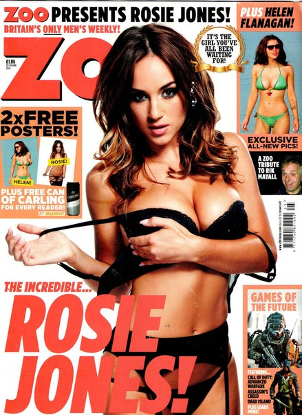 Rosie Jones – ZOO Magazine (June 2014)