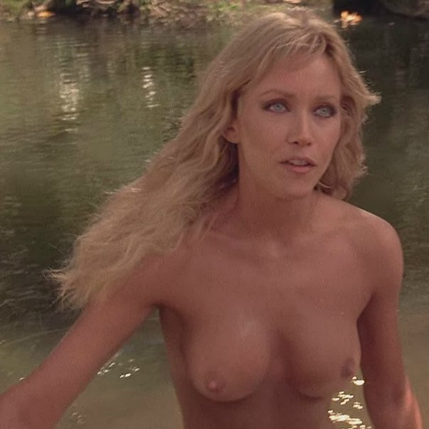 Tanya roberts fucking hard and exposing her big tits and great ass in picture
