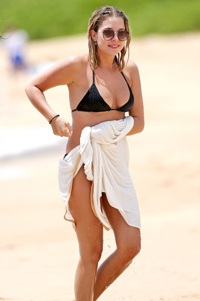 Ashley Benson – Bikini Candids in Hawaii