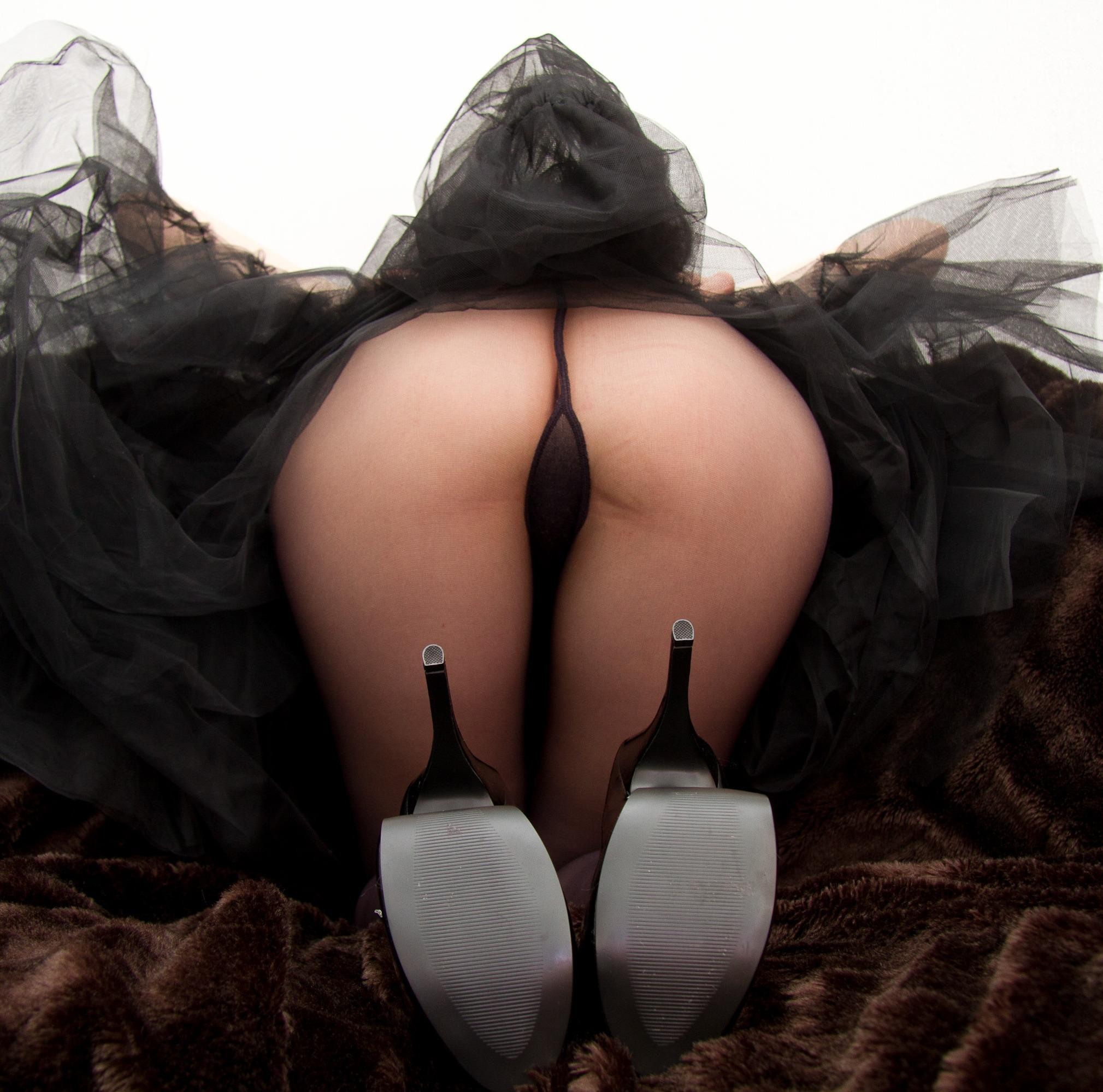 Сексуальные попки в колготках