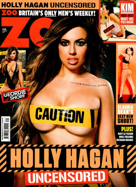 Holly Hagan - ZOO Magazine (1st August 2014)