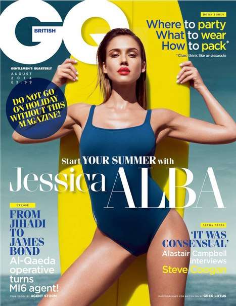 Jessica Alba – GQ UK Magazine Photoshoot