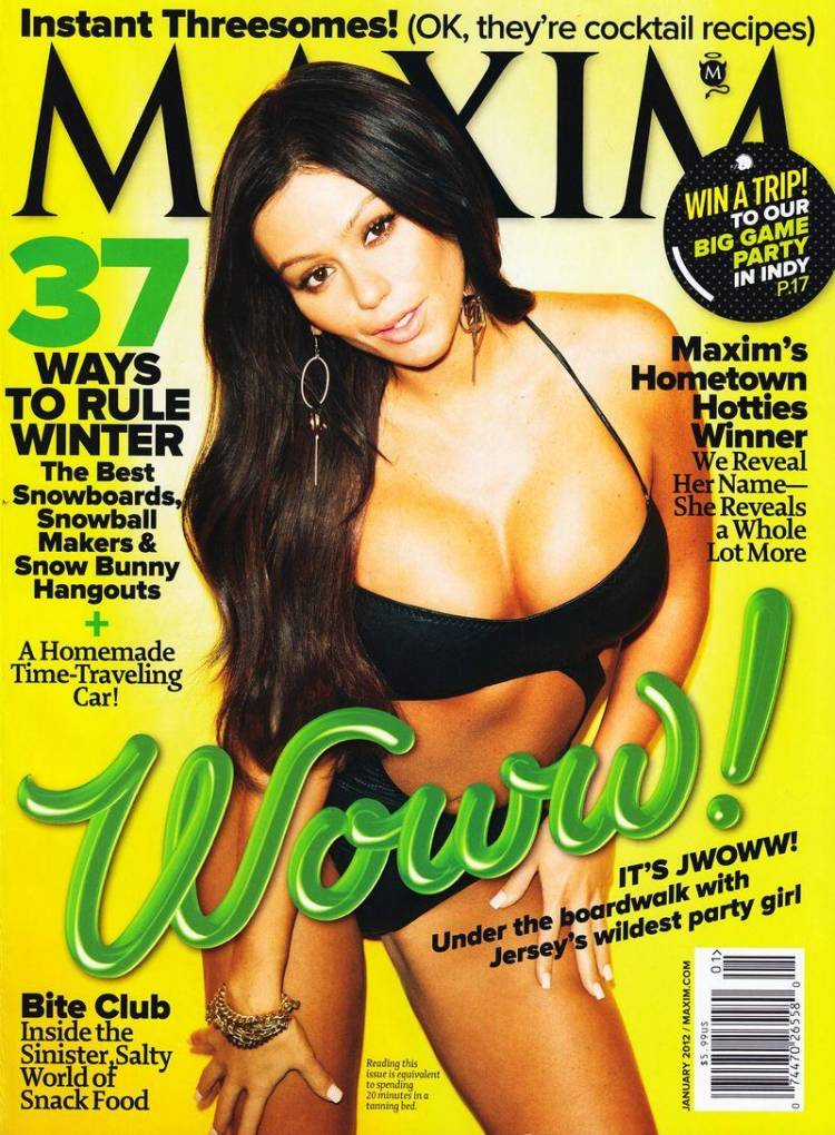 Голая Jenni Farley - Maxim January 2012  USA