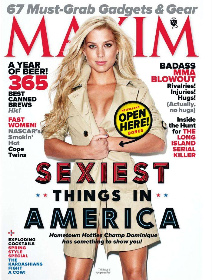 Обнаженная Sexiest Things In America - Maxim March 2012  USA