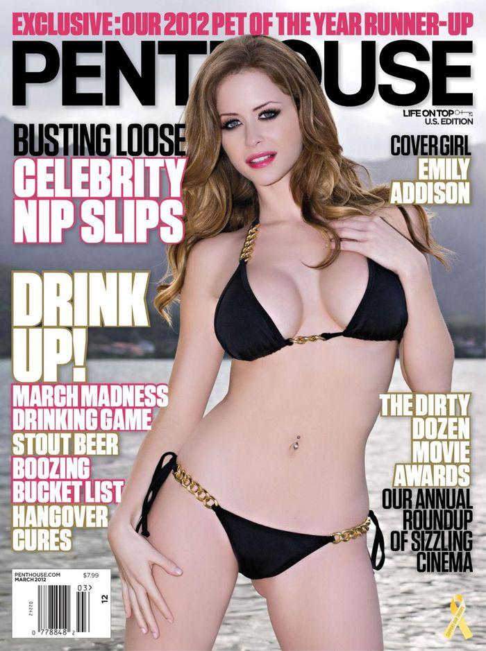 Секси Emily Addison - Penthouse March 2012  USA