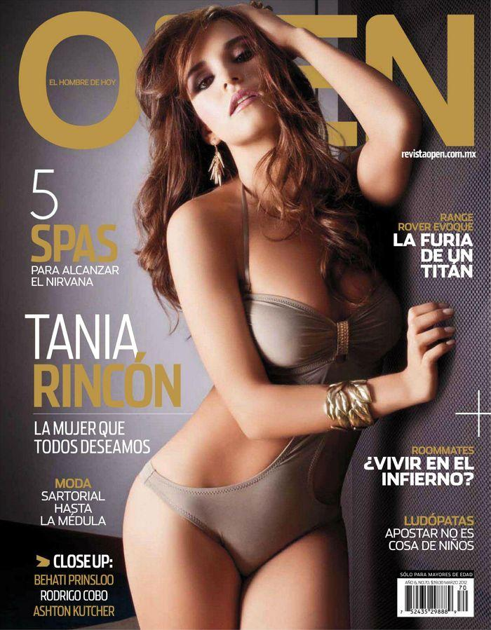 Обнаженная Tania Rincon - Open March 2012  Mexico