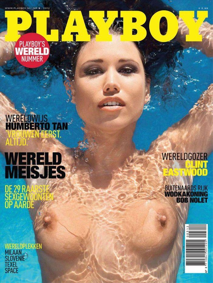 Голая звезда Doris - Playboy March 2012  Netherlands