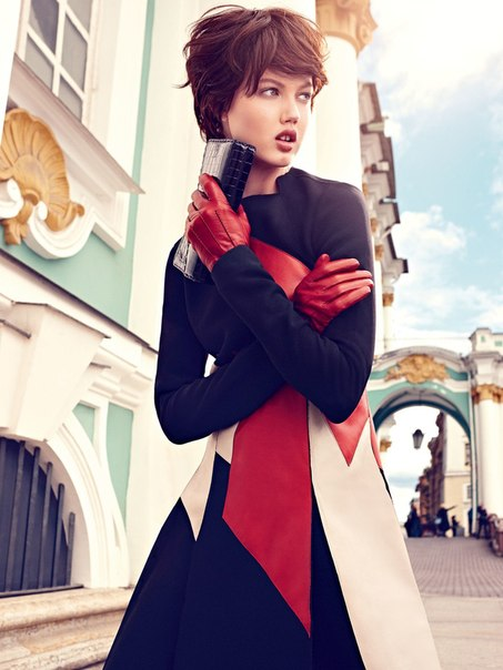 Lindsey Wixson - Alexi Lubomirski Photoshoot for Vogue