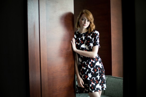 Emma Stone - Todd Heisler Photoshoot for The New York