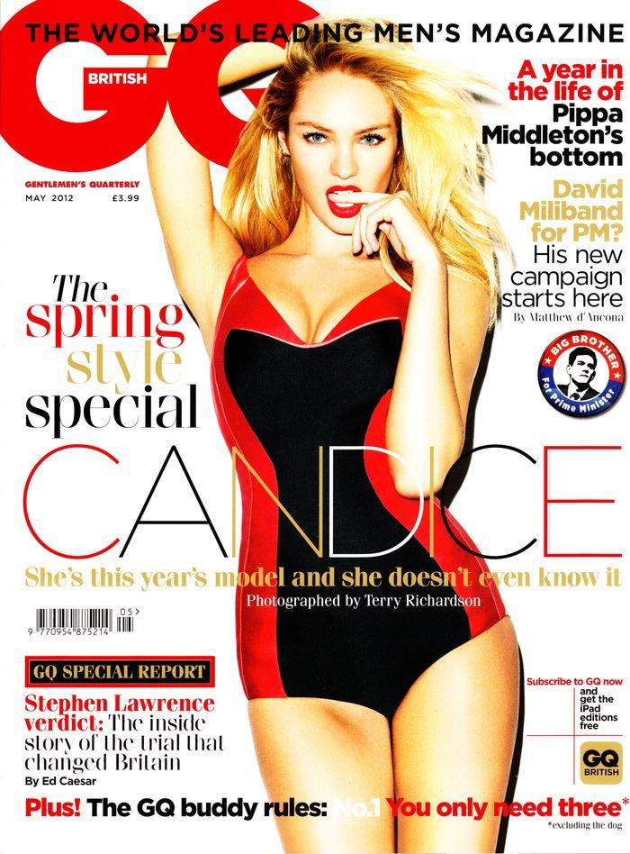 Голая Candice Swanepoel - GQ May 2012  UK