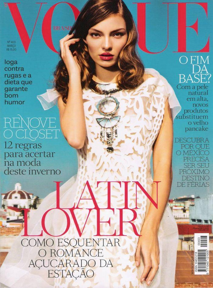 Голая Carola Remer - Vogue March 2012  Brazil