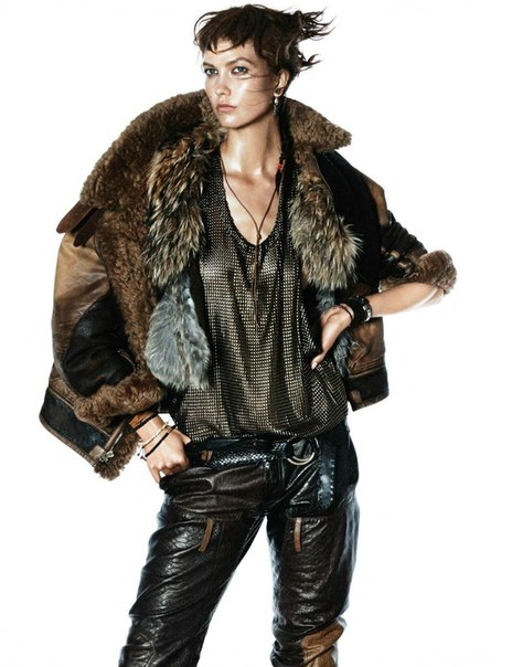Karlie Kloss by David Sims for Vogue Paris October