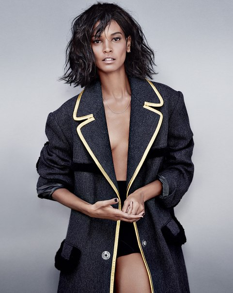 Liya Kebede by Tiziano Magni for Marie Claire France