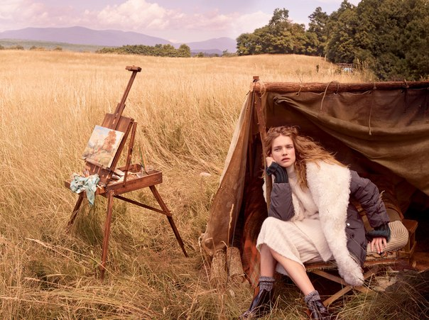 Natalia Vodianova - Annie Leibovitz Photoshoot Vogue