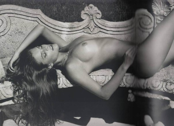 "Nina Agdal – ""100 Great Danes"" Topless Photoshoot"