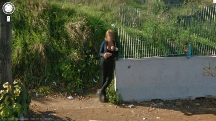 Anal google street view voyeur hairy russian teen