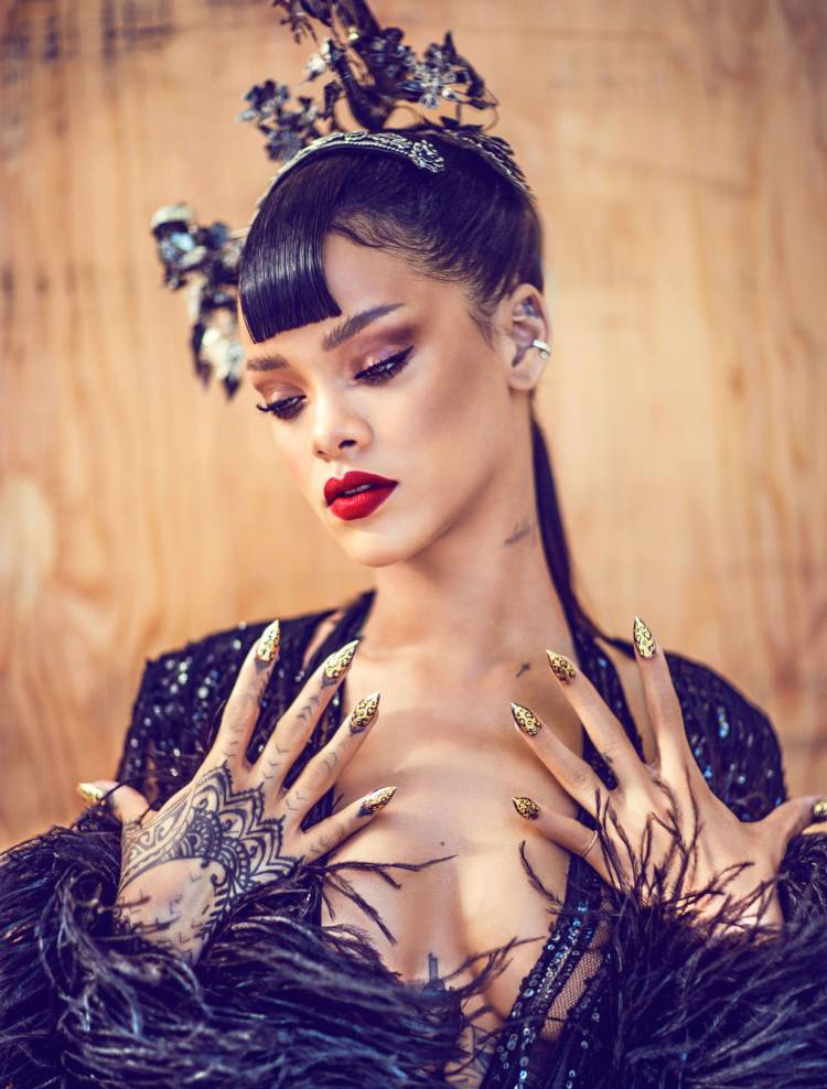 Рианна (Rihanna) для журнала Harper's Bazaar China