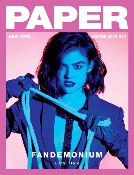 Lucy Hale, Chloe Sevigny – Paper Magazine (Winter 2015)
