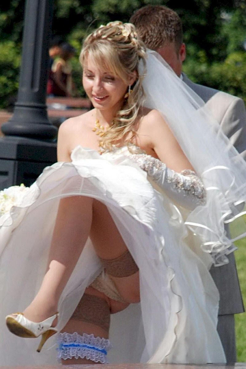 Wedding night upskirt — pic 5