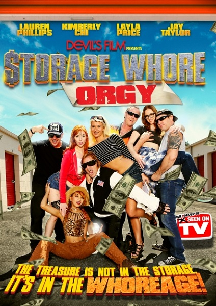 Оргия складских шлюх / Storage Whore Orgy (2016) WEBRip