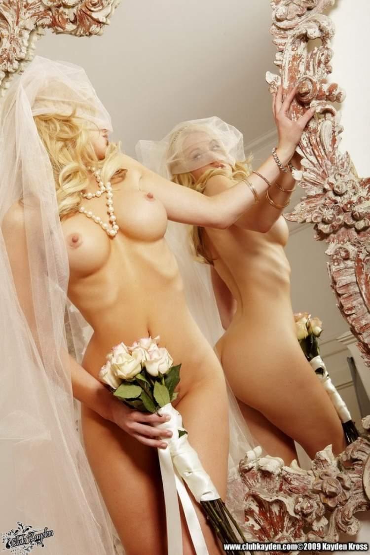 результате через свадьбы фото голые решает